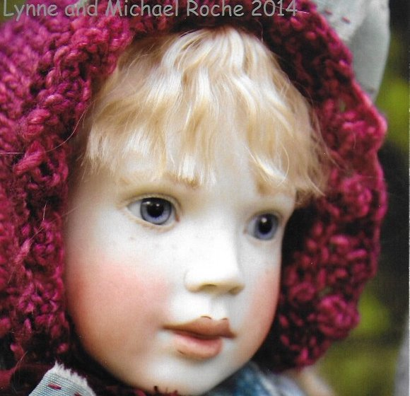 Roche dolls by Lynne and michael Roche