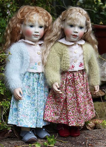 Elsie and Robyn look so beautiful in their new outfits.