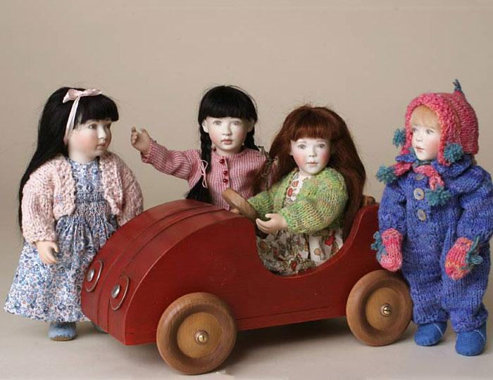 The little Red Car is available as an optional extra with any 2010 Little Friend.