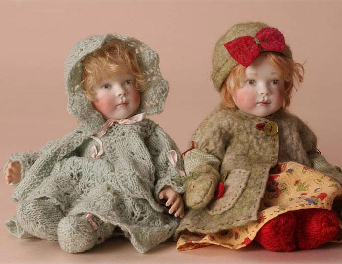 Here you can see our two Bonnie Baby editions together.
