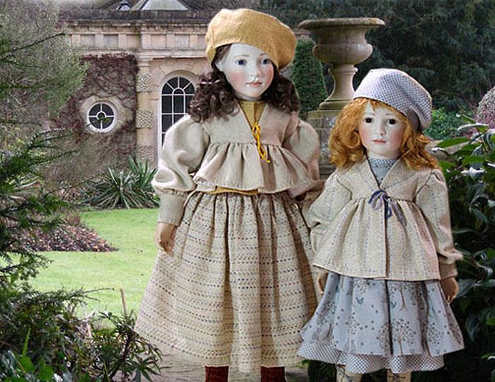 Autumn has arrived! Cicely and Harriet