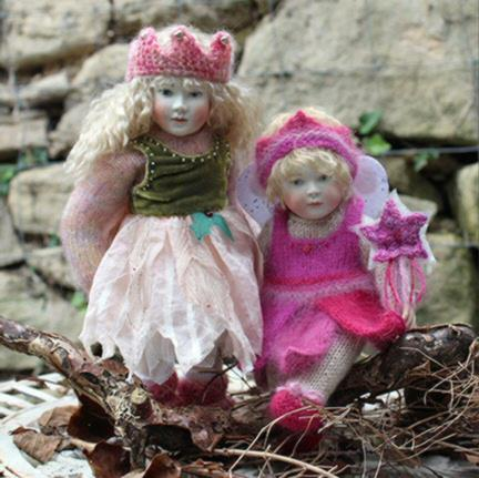 Bonnie looks lovely with her older sister Pippa in their fairy outfits.